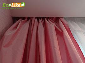 Натяжной потолок карниз-ниша