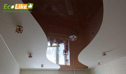 Спайка различных типов фактуры для натяжных потолков